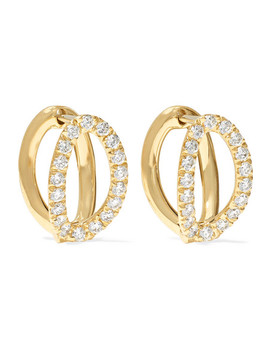Mila Small 18 Karat Gold Diamond Earrings by Melissa Kaye