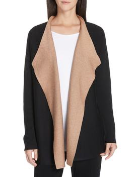 Reversible Silk Blend Cardigan by Eileen Fisher
