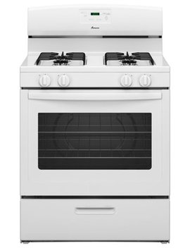 5.1 Cu. Ft. Freestanding Gas Range   White by Amana