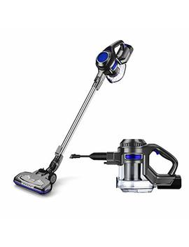 Moosoo M Vacuum Cleaner 2 In 1 Cordless Stick Vacuum With Strong Suction Bagless For Home Car Pet   Xl 618 A by Moosoo M