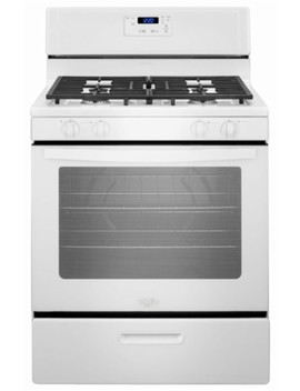 5.1 Cu. Ft. Freestanding Gas Range   White by Whirlpool