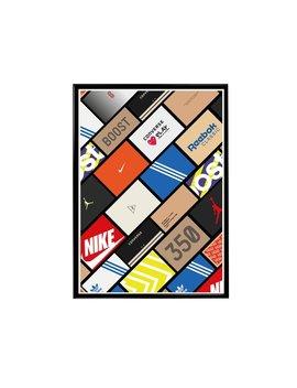 Custom Sneaker Wall Pop Art Poster, Hypebeast Poster, Streetwear Posters, Sneaker Poster Wall Art, Pop Culture Poster, Pop Art by Etsy