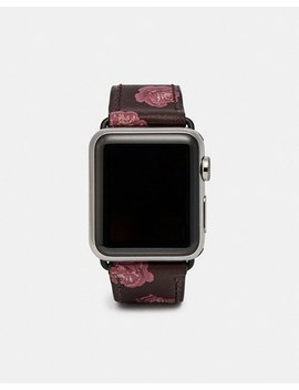 Apple Watch® Strap With Prints by Coach