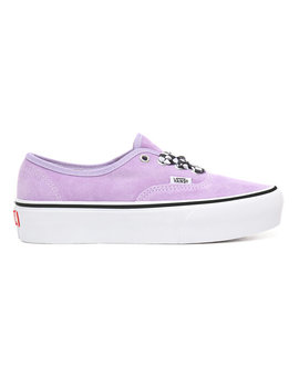 Checkerboard Lace Authentic Platform 2.0 Shoes by Vans
