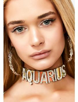 Mz. Aquarius Bling Choker by Ciel