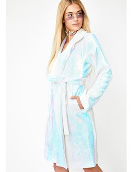 Crystal Dimension Trench Coat by Horoscopez