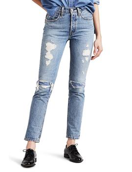 Levi's(R) 501(R) Distressed Skinny Jeans (Needle Work) by Levi's
