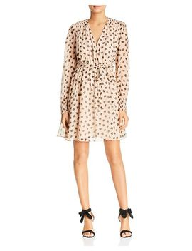 Heart Print Silk Dress by Kate Spade New York
