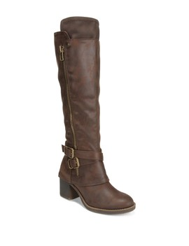 Reagan Knee High Boot by Carlos By Carlos Santana