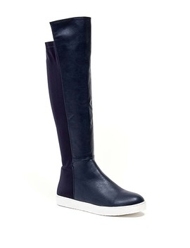 Class Act Over The Knee Sneaker Boot by Ramarim