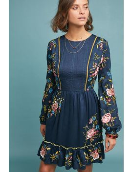 Jamila Embroidered Tunic Dress by Seen Worn Kept