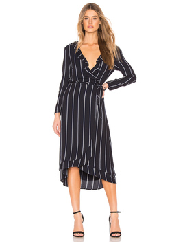 Priya Wrap Dress by Rails