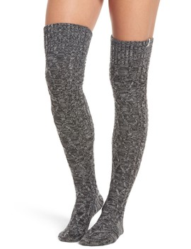 Ugg(R) Cable Knit Over The Knee Socks by Ugg