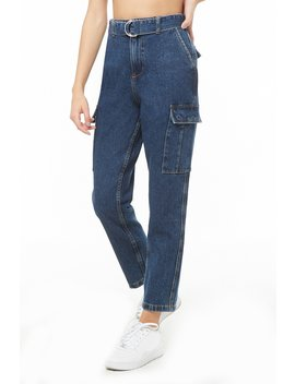 D Ring Straight Leg Jeans by Forever 21