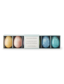 Alabaster Eggs by Williams   Sonoma
