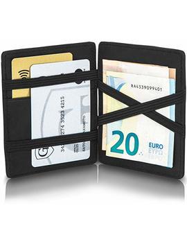 Gen To® Magic Wallet Vegas   Wild Leder Optik   TÜv Geprüfter Rfid, Nfc Schutz   Geschenk Für Herren | Design Germany by Amazon