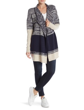 Open Front Cashmere Cardigan by Griffen Cashmere