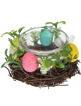 Easter Egg Wreath Candle Holders by Hobby Lobby