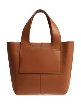 Apron Leather Tote by Victoria Beckham