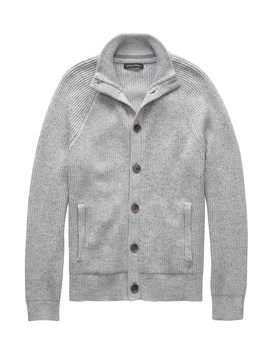 Supima® Cotton Sweater Jacket by Banana Repbulic