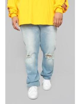Pauly Straight Jeans   Light Wash by Fashion Nova