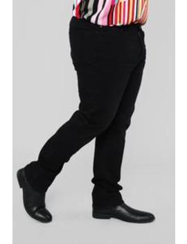 Roland Skinny Jeans   Black by Fashion Nova