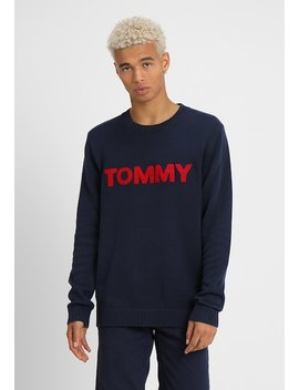 Bold Logo   Strickpullover by Tommy Jeans
