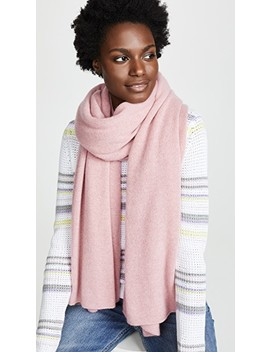 Travel Wrap Cashmere Scarf by White + Warren