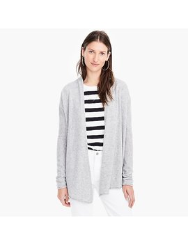 Open Front Cashmere Cardigan by J.Crew