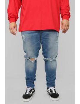 Frank Skinny Jeans   Medium Wash by Fashion Nova
