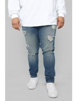 Cameron Skinny Jeans   Medium Wash by Fashion Nova