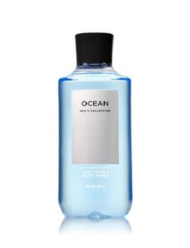 Bath & Body Works, Signature Collection 2 In 1 Hair + Body Wash, Ocean For Men, 10 Ounce by Bath & Body Works