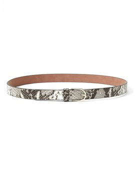 Snake Print Trouser Belt by Banana Repbulic