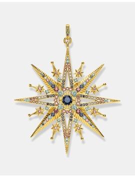 Kingdom Of Dreams Gold Star Pendant by Thomas Sabo