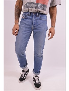 Diesel Mens Vintage Jeans W29 L32 Blue 90s by Diesel