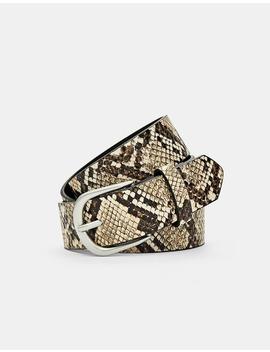 Ceinture Basique Effet Serpent by Stradivarius