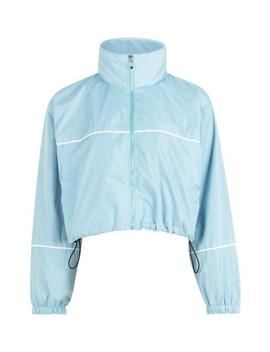 Cropped Funnel Neck Windbreaker by Boohoo