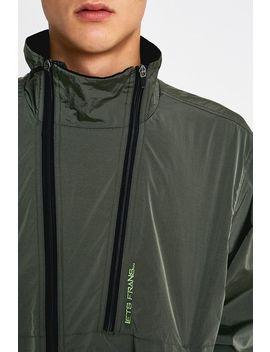 Iets Frans… Khaki Iridescent Track Jacket by Iets Frans...
