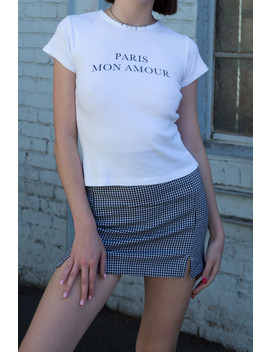 Hailie Paris Mon Amour Top by Brandy Melville