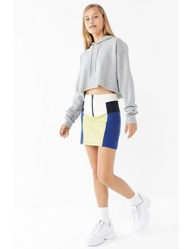 Uo Vida Colorblock Mini Skirt by Urban Outfitters