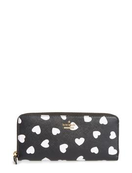 Cameron Street Hearts Lindsey Faux Leather Wallet by Kate Spade New York