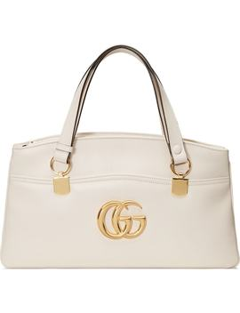 Large Arli Leather Top Handle Bag by Gucci