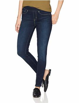 Signature By Levi Strauss & Co. Gold Label Women's Totally Shaping Pull On Skinny Jean by Signature By+Levi+Strauss+%26+Co.+Gold+Label