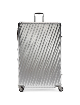 Silver Aluminium Worldwide Trip Packing Suitcase by Tumi