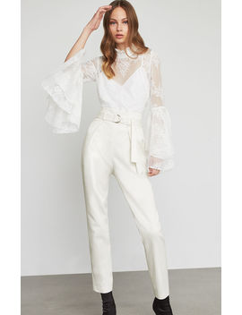 Single Pleated Ankle Pant by Bcbgmaxazria