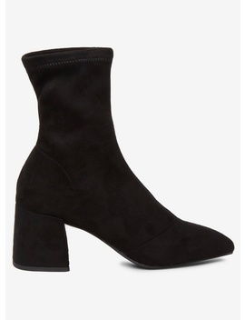 Black 'ava' Boots by Dorothy Perkins