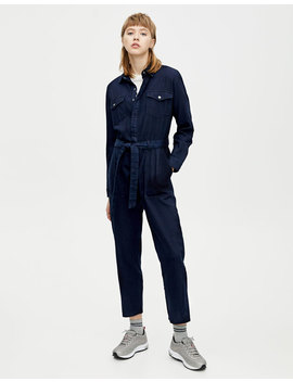 Langer Workwear Jumpsuit by Pull & Bear