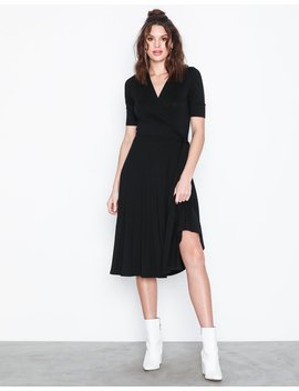 Slfbiaz 2/4 Wrap Dress Ex by Selected Femme