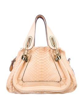 Small Python Paraty Bag by Chloé