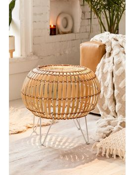 Tabitha Rattan Ottoman by Urban Outfitters